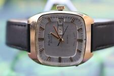 VINTAGE MEN'S VERY BIG USSR MECH/AUTO POLJOT 23 JEWELS; DOUBLE CALENDAR!