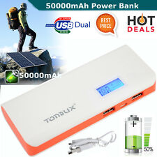 BEST 50000MAH Portable Power Bank Battery Charger For iPhone & Android Mobile UK