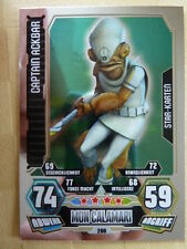 Force Attax Star Wars Serie 3 (2012), Captain Ackbar (200),Star-Karten