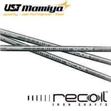 UST Mamiya Recoil 670 F4 8 Graphite Irons Parallel Tip Shafts Stiff Flex!