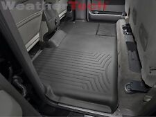 WeatherTech FloorLiner for Ford F-150 SuperCrew - 2009-2014 - 2nd Row - Black