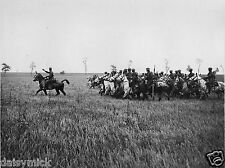 British Army Royal Scots Greys Cavalry France World War 1 Photo 7x5 Inch Reprint