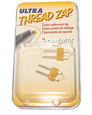Thread Zap Ultra Thread Burner Replacement Tips -  Pack of 2 Tips