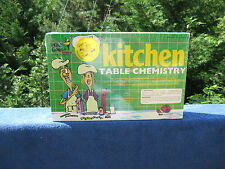 The Wild Goose Kitchen Table Chemistry Set~ New & Factory Sealed!
