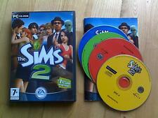 The Sims 2 PC CD ROM base gioco 4-disco Per Windows