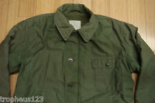 Vietnam War USN A-2 Deck Jacket post war U.S. NAVY Field Coat US M-41 Sz 42R