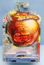 2588 HOT WHEELS  / CARTE US / HOLIDAY HOT RODS 2010 / 1958 EDSEL 1/64