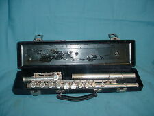 #3 Gemeinhardt Elkhart 2SP Silver Plated Flute with Case