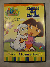 Nick Jr Dora The Explorer Rhymes and Riddles DVD 2 Bonus Episodes Special Featur