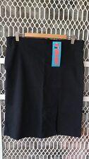 Woman office uniform black stretch skirt size ,14,16,18