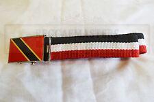TRINIDAD et ceinture TOBAGO reggae rasta caribbean pride roots & culture