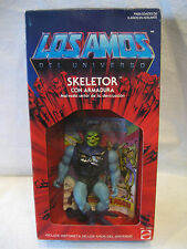 LOS AMOS Mattel Battle Armor SKELETOR Masters of the Universe Mexico figure toy