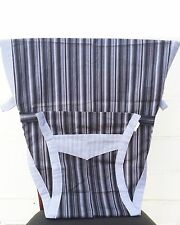 New Portable Baby Chair/High Chair Harness, Stripes