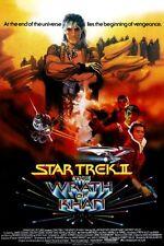 Star Trek The Wrath Of Khan Movie Poster 24x36