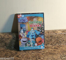 Blue's Clues Holiday Wishes DVD 4 Episodes Nick Jr NEW