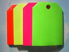 .CAR DEALER 50 NEW REAR VIEW MIRROR HANGING CARD TAGS Blank / Pink