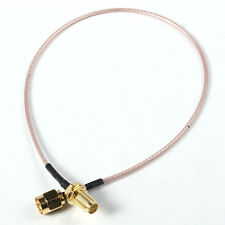 NEW Extension cable RP-SMA Male to RP-SMA Female RF Connector Pigtail Cable