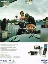 Publicité advertising 2005 Le Telephone Nokia NSeries