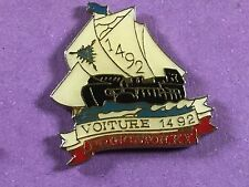 pins pin bateaux boat christophe colomb voiture 1492