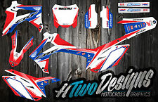 HONDA CRF 250/450 R GRAPHIC KIT CRF250 '14 2015 CRF450R 2013-2015 STICKERS DECAL