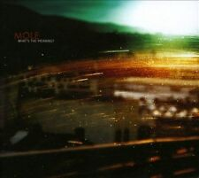 What's the Meaning? [Digipak] * by Mole (CD, May-2012, RareNoise Records)
