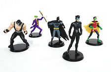 Justice League Collectible Figurines Box Set Batman, Robin, Catwomen+- DC COMICS