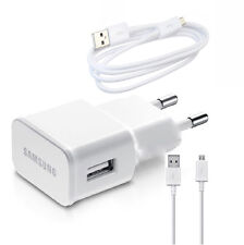 Samsung S6 Universal Mobile Charger USB Power Wall Adapter + Cable Sony Micromax