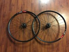 "DT Swiss 465D Shimano 26"" MTB Bike Wheelset - Wheels 32 Spoke - Disc M525 Deore"