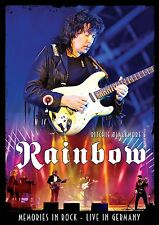 RITCHIE BLACKMORE'S RAINBOW New 2016 REUNION LIVE CONCERT DVD & 2 CD BOXSET