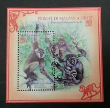 Malaysia Primates Of Malaysia 2016 Lunar Year Monkey (ms) MNH *Limited Edition