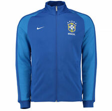 NEW SZ S MENS NIKE BRAZIL AUTHENTIC N98 TRACK JACKET $110.00 727809 495 BRASIL
