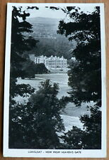 VINATAGE POSTCARD - LONGLEAT. VIEW FROM HEAVEN'S GATE – 1960