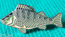 Perch Metal Freshwater Game Fish Angling Fisherman Angler Enamel Pin Badge NEW