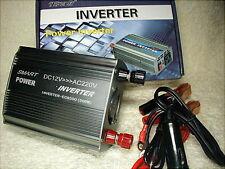 INVERTER  PORTATILE / TRASFORMATORE  12Vdc/ 220Vac   500 WATT PER AUTO CAMPER CO
