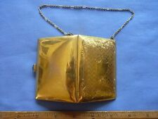 Antique Gold Plated Coin Purse Marked C and R