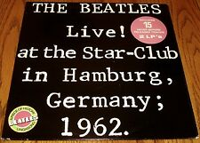 THE BEATLES LIVE AT THE STAR - CLUB IN HAMBURG GERMANY 1962 ORIGINAL LP