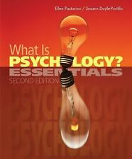 What Is Psychology Essentials 2nd Edition Hardcover 2013 (E1-58)