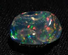"4.5cts MEXICAN 100% NATURAL FIRE OPAL FREEFORM TRANSPARENT ""CONTRA LUZ"" JEWELRY"