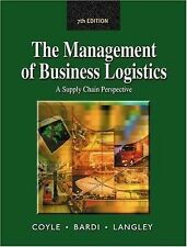 Management of Business Logistics: A Supply Chain Perspective-ExLibrary