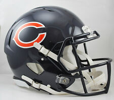 CHICAGO BEARS NFL Riddell SPEED Full Size AUTHENTIC Football Helmet