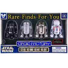 "Disney Star Wars Movie Rogue One Astromech ""Droid Factory"" Figure Set of 4 (NEW)"
