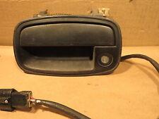 KIA SPORTAGE 95-00 1995-2000 EXTERIOR DOOR HANDLE w/ LOCK w/o KEY DRIVER LH LEFT
