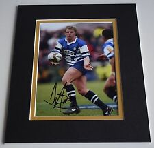 Denis Betts Signed Autograph 10x8 photo mount display Wigan Rugby AFTAL & COA
