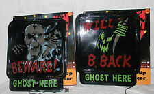 Pair Halloween Holographic Light UP Halloween Wall Window Decor