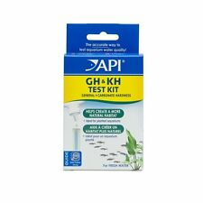 API GH and KH Test Kit, Liquid test for freshwater, Aquarium Test Kits [58] NEW