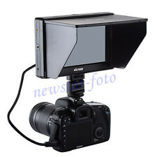 NEW 7'' HDMI LCD Monitor for Canon EOS 1200D 70D 700D 100D 650D 60D 600D 10D 20D