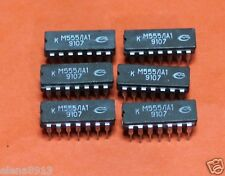 KM555LA1 = SN74LS20  IC / Microchip USSR  Lot of 25 pcs
