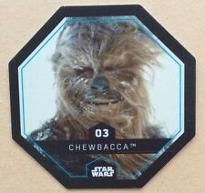 STAR WARS Jeton 03 CHEWBACCA Cosmic Shells E.Leclerc Collector Image
