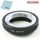 Roxsen Leica M39 39mm mount lens to Canon EOS M EF-M mount camera adapter