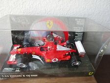 Hot Wheels Racing 1:24 Ferrari F1 Formula One Race Car Model + CD-Rom NIB